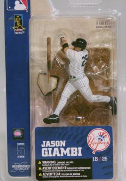 Action Figure Boxes - Baseball: Jason Giambi