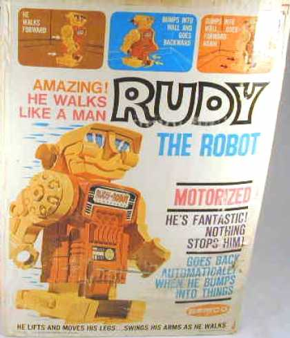 Action Figure Boxes - Rudy the Robot