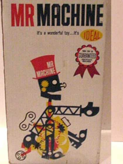 Action Figure Boxes - Mr. Machine