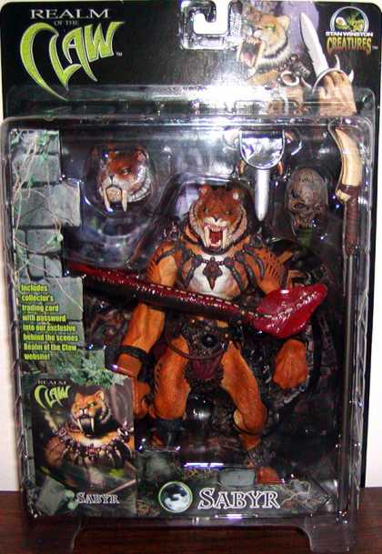 Action Figure Boxes - Realm of the Claw: Sabyr
