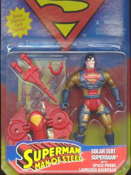 Action Figure Boxes - Superman: Solar Suit Superman