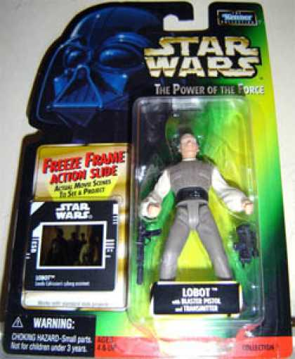 Action Figure Boxes - Star Wars: Lobot