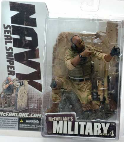 Action Figure Boxes - Military: Navy Seal Sniper