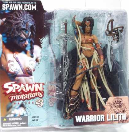 Action Figure Boxes - Warrior Lilith
