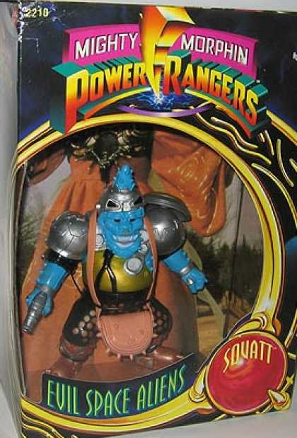Action Figure Boxes - Power Rangers: Evil Space Alien Squatt