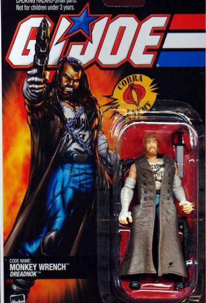 Action Figure Boxes - G.I. Joe: Monkey Wrench Dreadnok