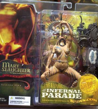 Action Figure Boxes - Clive Barker: Mary Slaughter