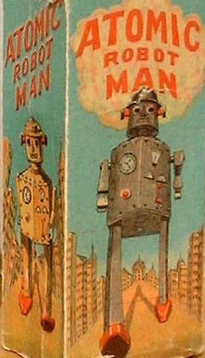 Action Figure Boxes - Atomic Robot Man