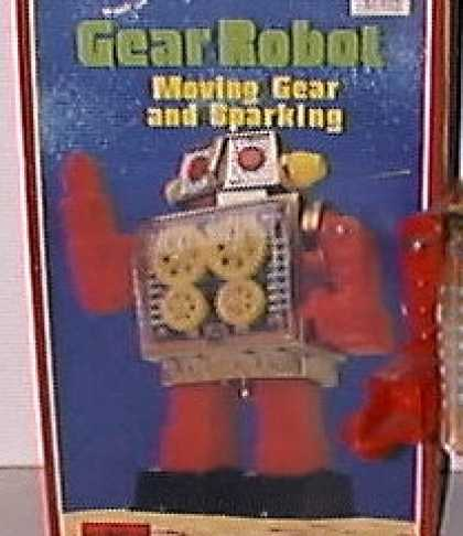 Action Figure Boxes - Gear Robot