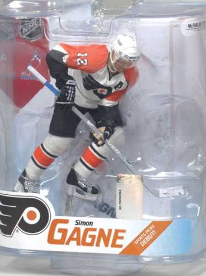 Action Figure Boxes - Ice Hockey: Simon Gagne