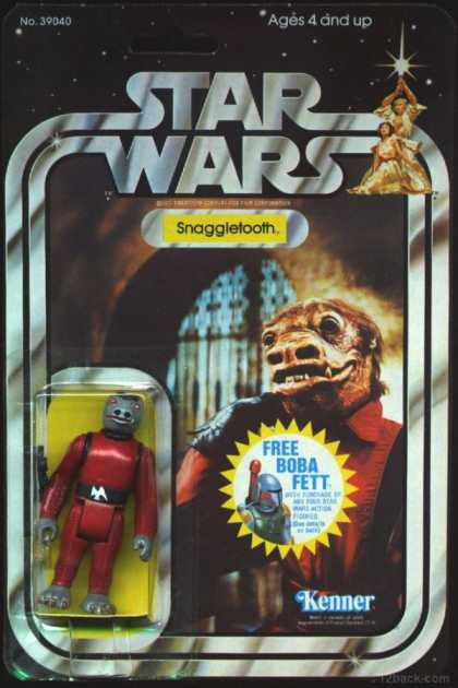 Action Figure Boxes - Star Wars - Snaggletooth