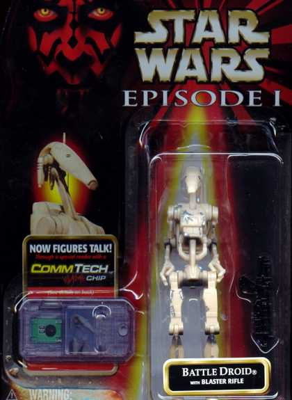Action Figure Boxes - Star Wars: Battle Droid