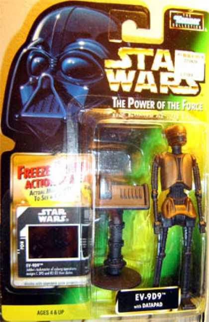 Action Figure Boxes - Star Wars: EV-9D9