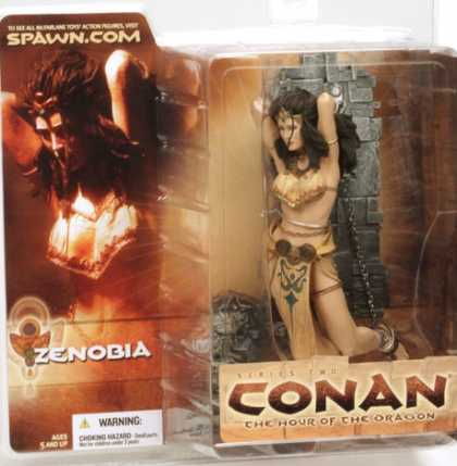 Action Figure Boxes - Conan: Zenobia