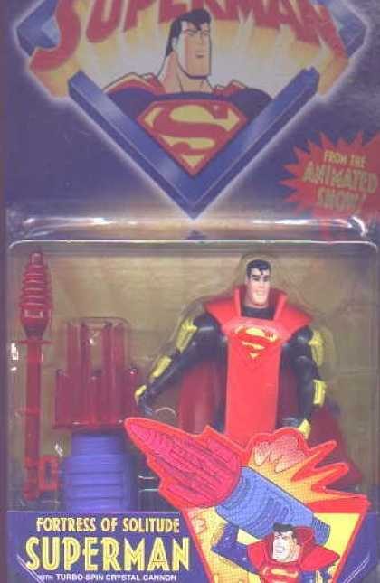 Action Figure Boxes - Fortress of Solitude Superman