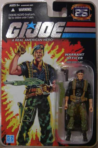 Action Figure Boxes - G.I. Joe: Warrant Officer