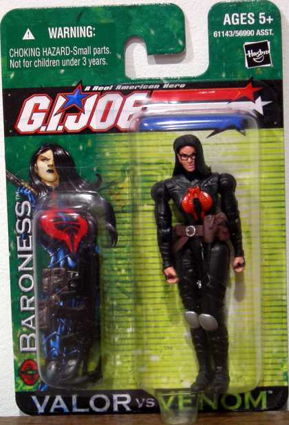 Action Figure Boxes - G.I. Joe: Baroness