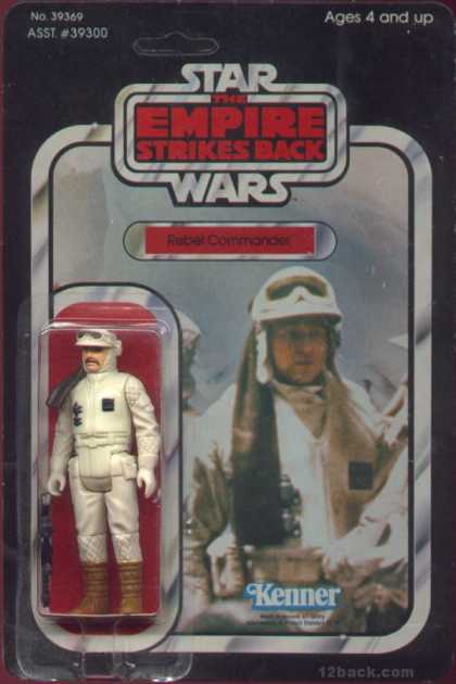 Action Figure Boxes - Star Wars: Rebel Commander