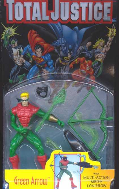 Action Figure Boxes - Green Arrow