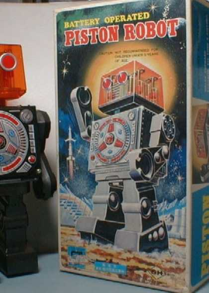 Action Figure Boxes - Piston Robot