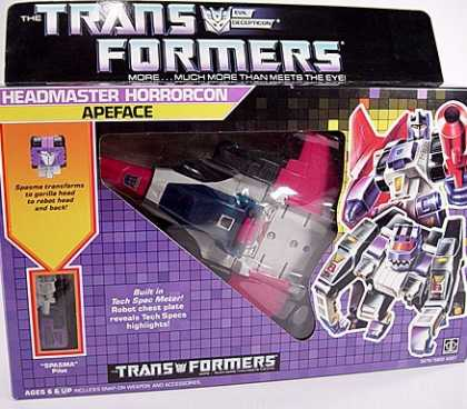 Action Figure Boxes - Transformers: Apeface