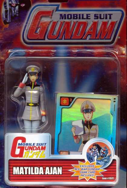 Action Figure Boxes - Mobile Suit Gundam: Matilda Ajan