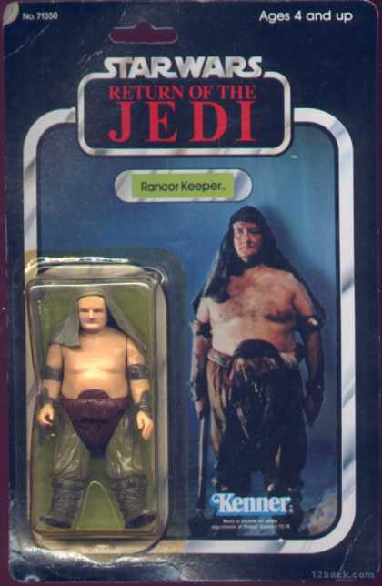 Action Figure Boxes - Star Wars: Rancor Keeper