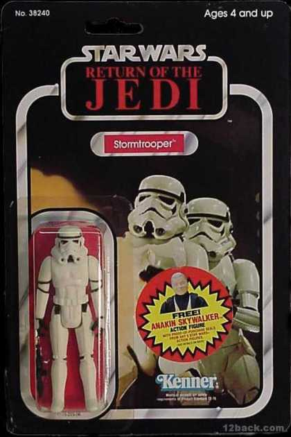 Action Figure Boxes - Star Wars: Stormtrooper