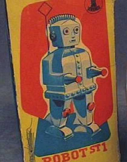 Action Figure Boxes - Robot St 1