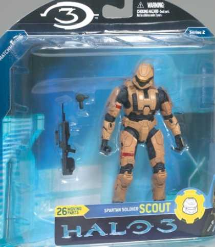 Action Figure Boxes - Halo 3: Spartan Soldier Scout