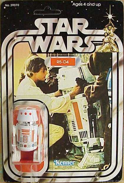 Action Figure Boxes - Star Wars: R5-D4