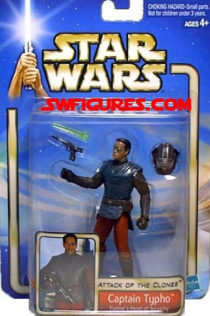 Action Figure Boxes - Star Wars: Captain Typho