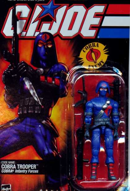 Action Figure Boxes - G.I. Joe: Cobra Trooper