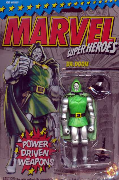 Action Figure Boxes - Dr. Doom
