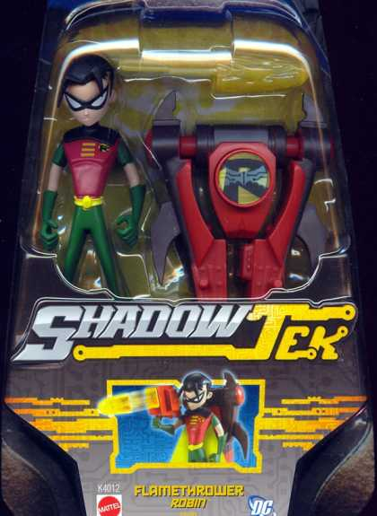 Action Figure Boxes - Batman Shadowtek: Flamethrower Robin