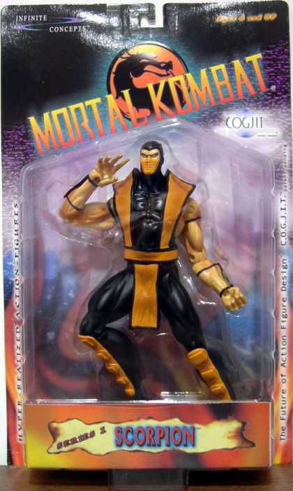 Action Figure Boxes - Mortal Kombat: Scorpion