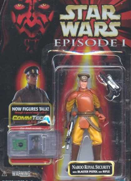 Action Figure Boxes - Star Wars: Naboo Royal Security