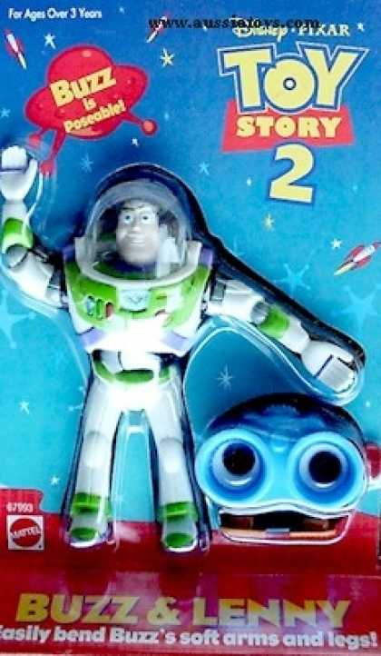 Action Figure Boxes - Toy Story: Buzz and Lenny