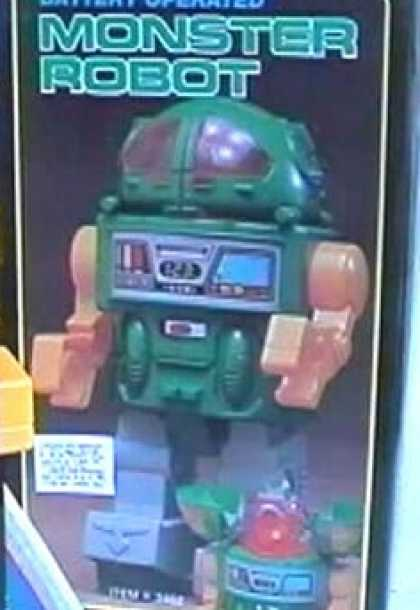 Action Figure Boxes - Monster Robot