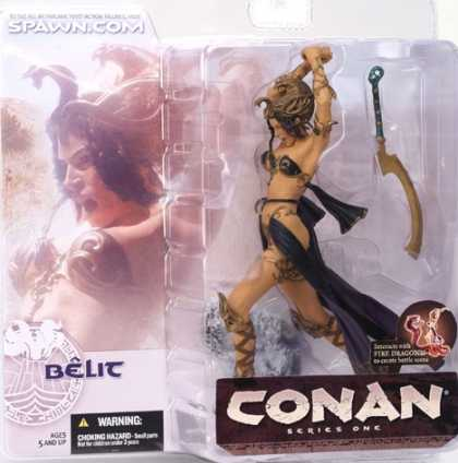 Action Figure Boxes - Conan