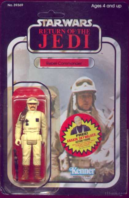 Action Figure Boxes - Star Wars Rebel Commander