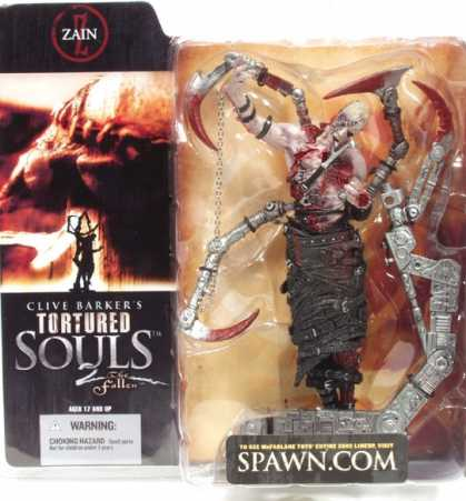 Action Figure Boxes - Clive Barker's Tortured Souls: Zain
