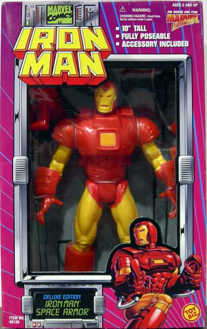 Action Figure Boxes - Iron Man Space Armor