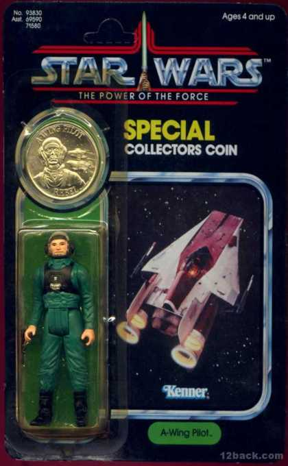Action Figure Boxes - Star Wars A-Wing Pilot