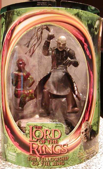 Action Figure Boxes - Lord of the Rings Orc Overseer