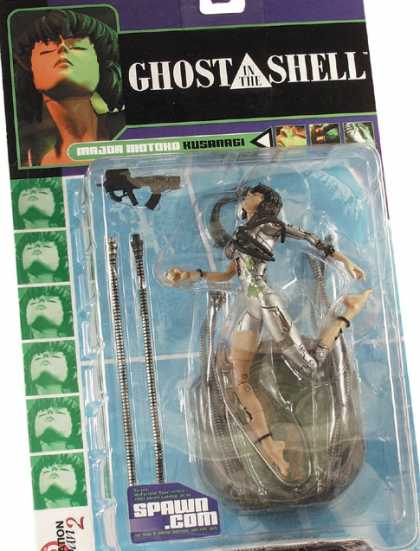 Action Figure Boxes - Ghost in the Shell