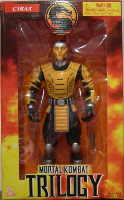 Action Figure Boxes - Mortal Kombat: Cyrax