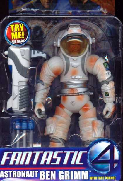 Action Figure Boxes - Fantastic 4: Astronaut Ben Grimm
