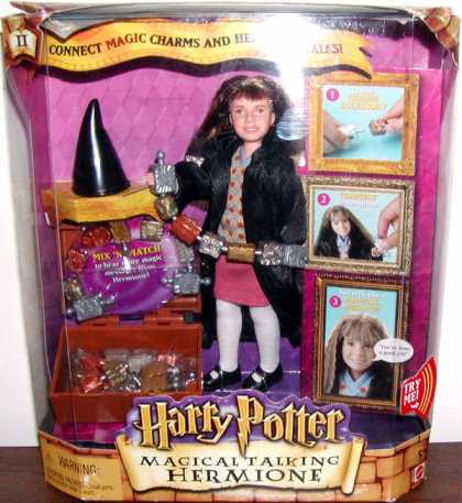 Action Figure Boxes - Harry Potter: Magical Talking Hermione