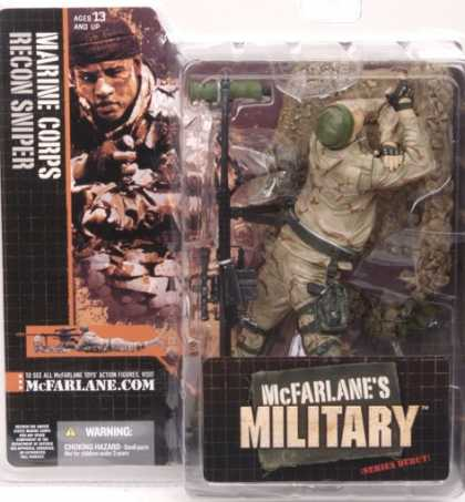 Action Figure Boxes - Marine Corps Recon Sniper